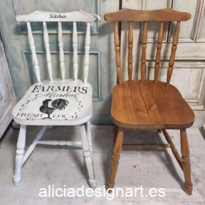 Curso taller de iniciación a la decoración y pintura de muebles y Home Decor 28 de mayo 2021 - Taller de decoración de muebles antiguos Alicia Designart Madrid