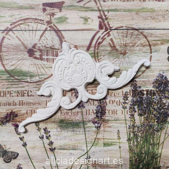 Molde silicona Cadence SA03 - Taller decoración de muebles antiguos Madrid estilo Shabby Chic, Provenzal, Romántico, Nórdico