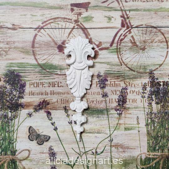 Molde silicona Cadence SA53 - Taller decoración de muebles antiguos Madrid estilo Shabby Chic, Provenzal, Romántico, Nórdico